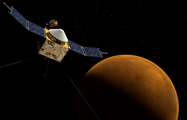 NASA сумело предотвратить столкновение аппарата MAVEN сФобосом