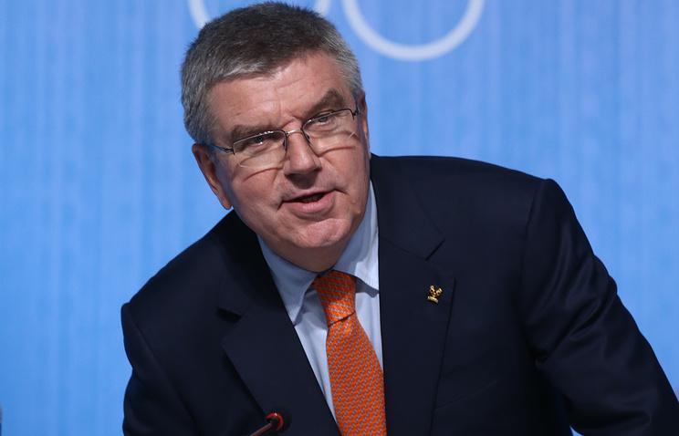 Мыприменяем презумпцию невиновности к русским спортсменам— Президент МОК Бах
