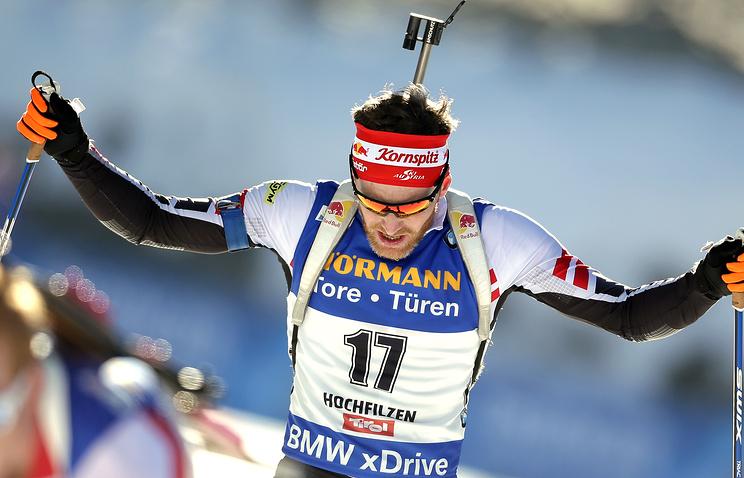 Австрийские биатлонисты завоевали золото всупермиксте наэтапе КМ, жители России - 14-е