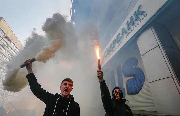 Киев ввел санкции против 5-ти банков РФ