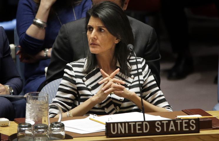 Постпред США при ООН Никки Хейли призвала никогда не полагаться РФ