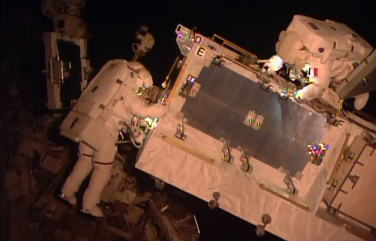 Астронавты наМКС три раза выйдут воткрытый космос весной текущего года