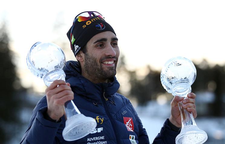 Мартен Фуркад победил вмасс-старте наэтапе Кубка мира побиатлону