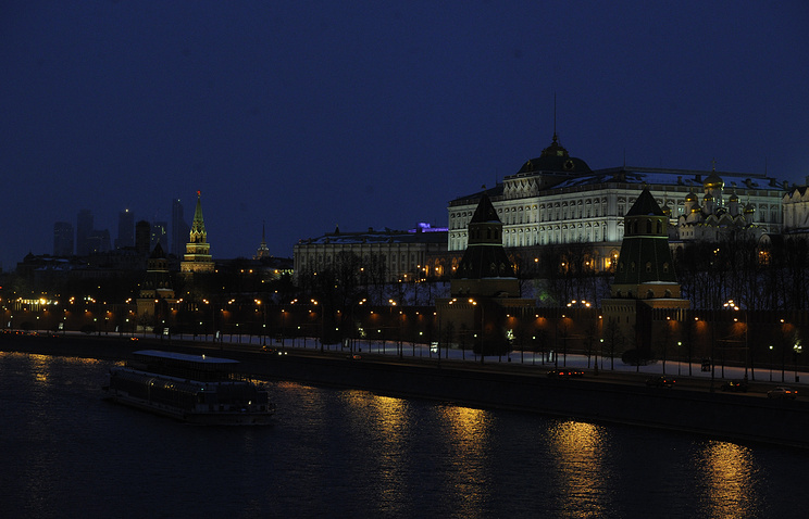 25марта Москва примет участие вакции «Час Земли»