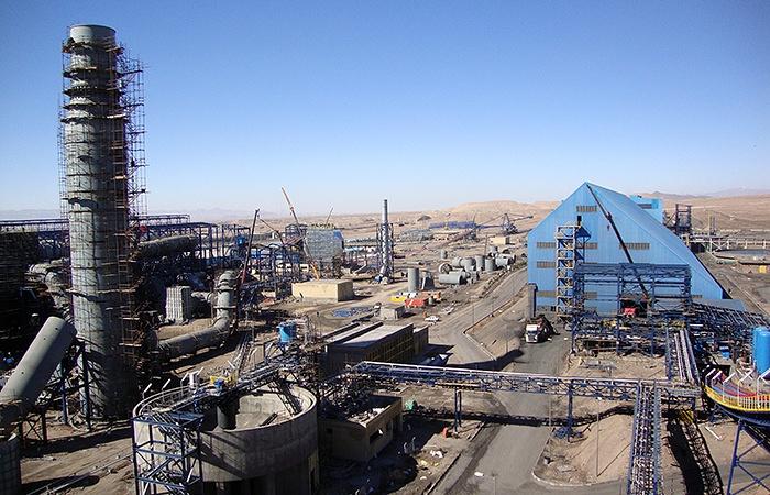 Площадка фабрики Санган-1