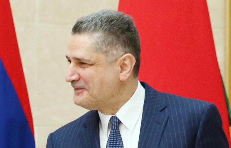 Председатель коллегии Евразийской экономической комиссии Тигран Саркисян