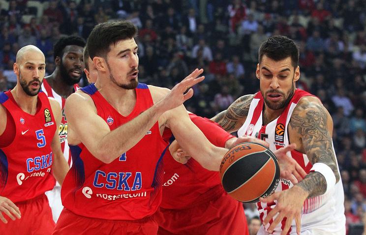 ЦСКА сыграет с«Басконией» вчетвертьфинале баскетбольной Евролиги