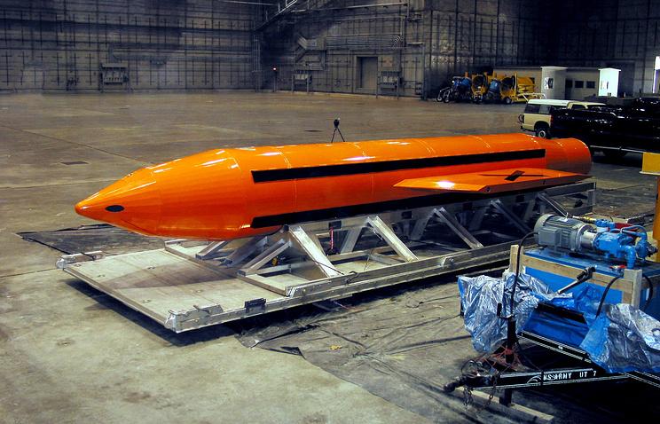 США сбросили напозицииИГ навостоке Афганистана мощнейшую авиабомбу