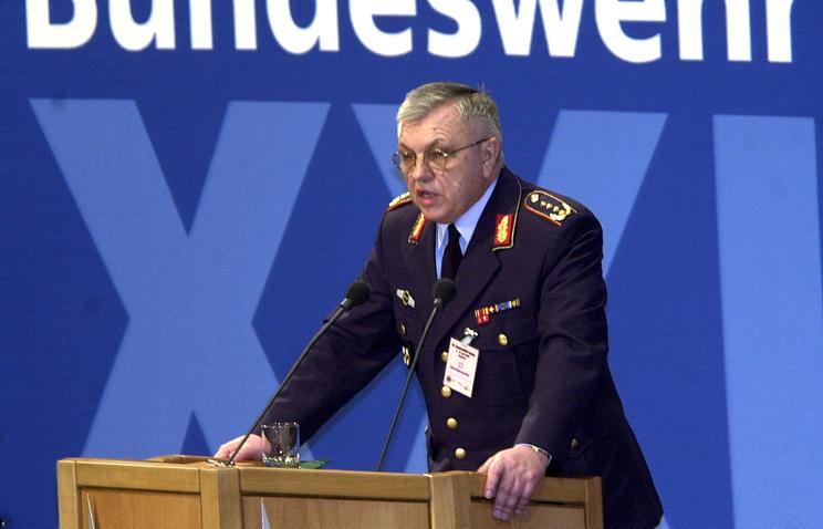 Экс-глава Военного комитета НАТО и бывший генеральный инспектор Бундесвера Харальд Куят