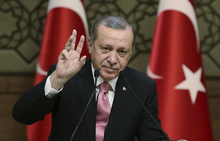 Эрдоган поведал  опредстоящей встрече сТрампом