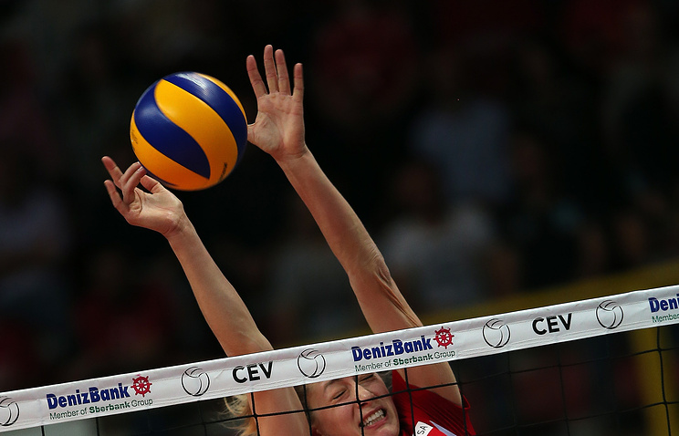 Волейболистки «Динамо» остались забортом финала Лиги чемпионов