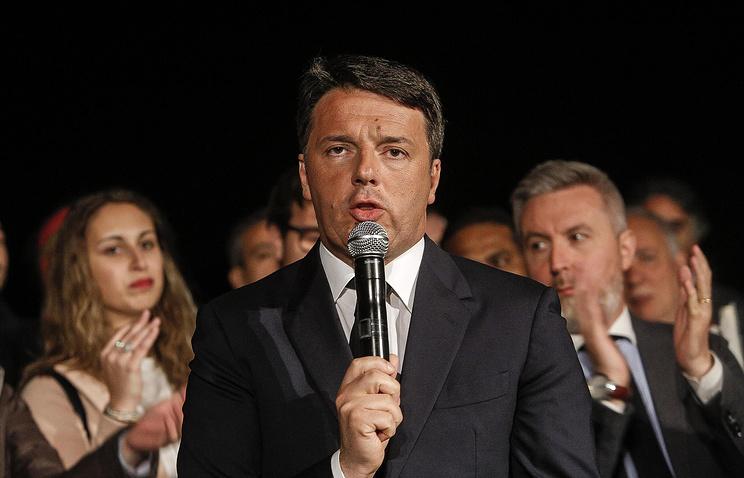 Маттео Ренци вновь возглавил итальянскую Демократическую партию