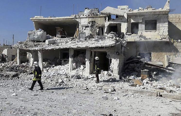 Русские военные говорили о постановочных съёмках последствий «химатак» вСирии