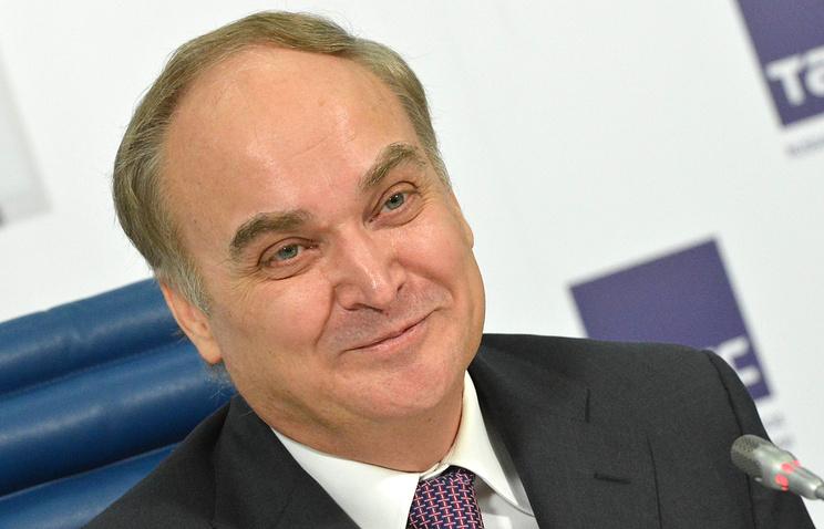 Замглавы МИД РФ Анатолий Антонов