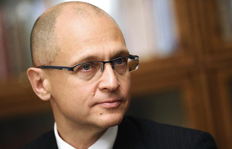Первый заместитель главы администрации президента РФ Сергей Кириенко