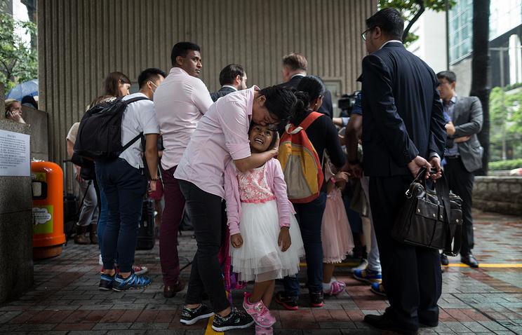 Группа беженцев, приютивших Эдварда Сноудена в Гонконге