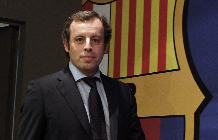 Прошлый  президентФК «Барселона» Россель схвачен  поподозрению вотмывании денежных средств