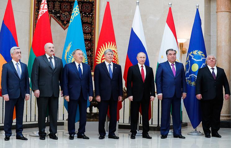 Главы государств-членов Организации Договора о коллективной безопасности