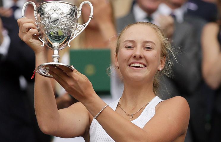 Международная федерация тенниса признала россиянку Потапову лучшей юниоркой 2016 года