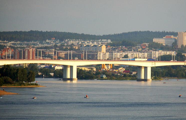 Иркутск. Вид на город.