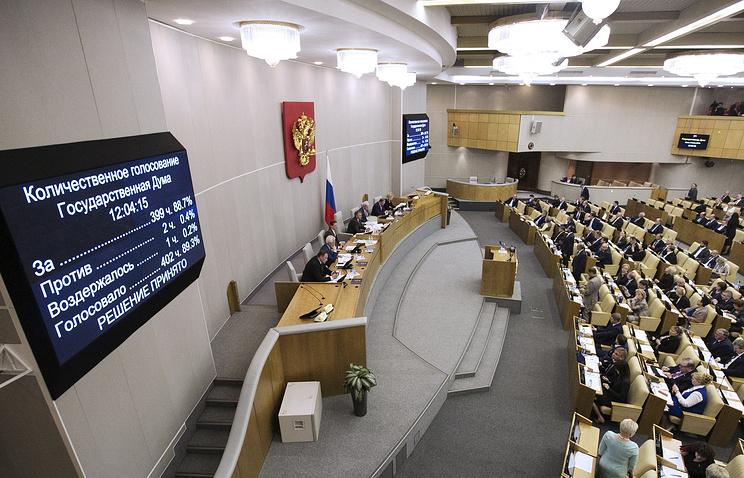 Итоги голосования по проекту реновации в Москве на пленарном заседании Государственной думы РФ, 14 июня