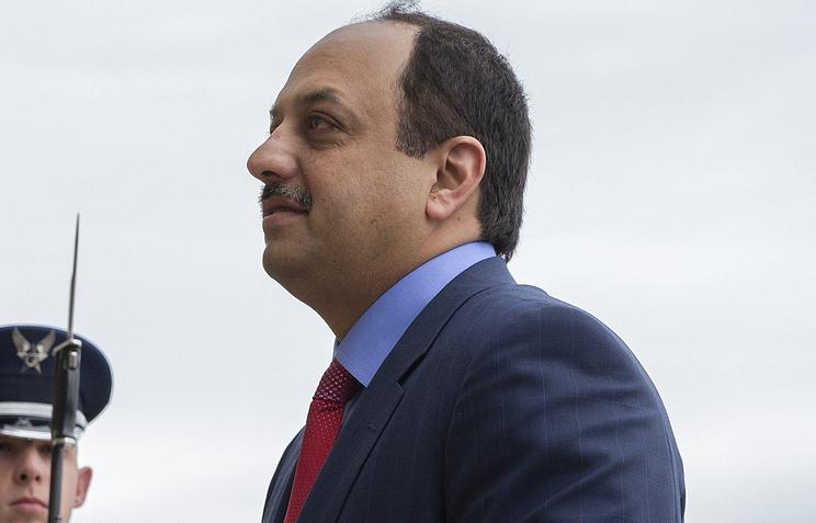 Министр обороны Катара Халед бен Мухаммед аль-Атыйя