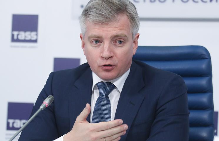 Руководитель Департамента культуры города Москвы Александр Кибовский