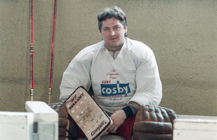 Скончался олимпийский чемпион похоккею Сергей Мыльников