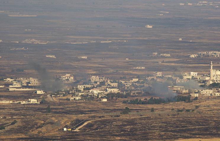 СМИ узнали осбитом истребителе ВВС Сирии МиГ-21 над зоной деэскалации