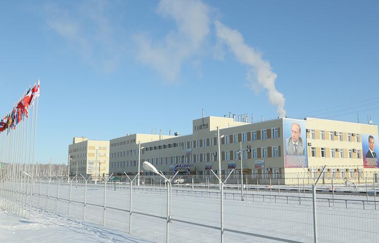 Завод по уничтожению химического оружия в городе Щучье. 2015 год
