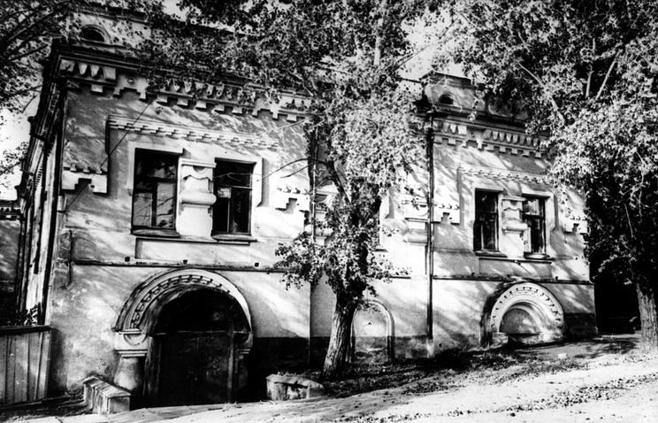 Дом, в котором в 1918 году были расстреляны император Николай II и члены его семьи