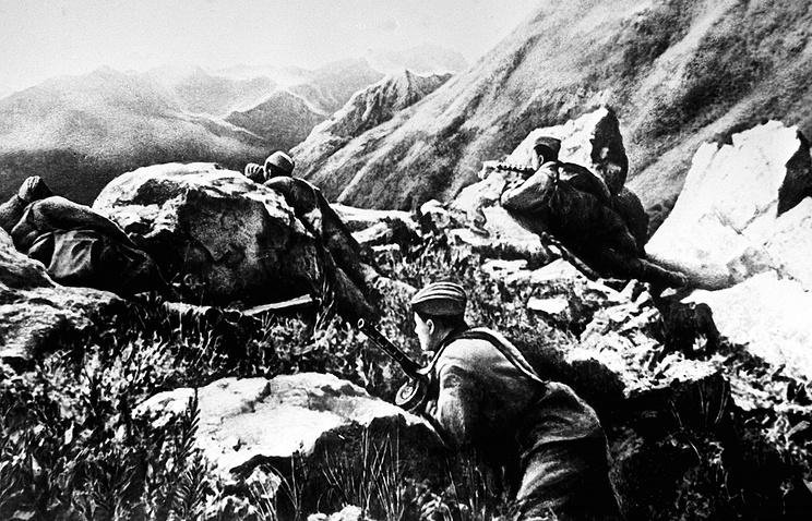 Война на перевалах Кавказского хребта