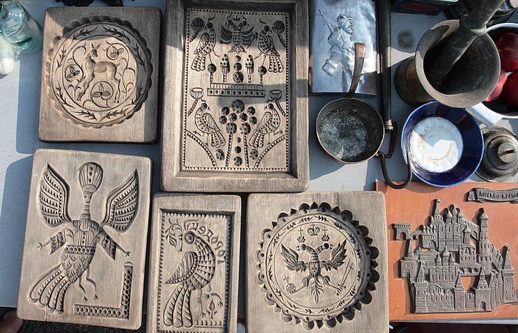 Пряничные доски для печати городецких пряников