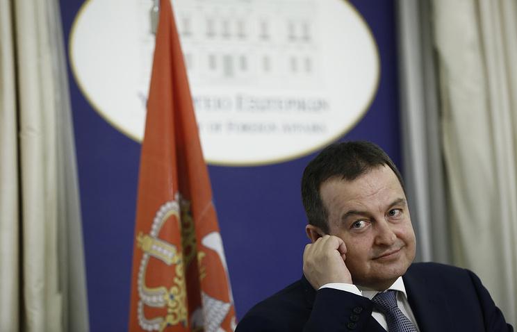Руководитель МИД Сербии ответил Пенсу наего слова оРоссии