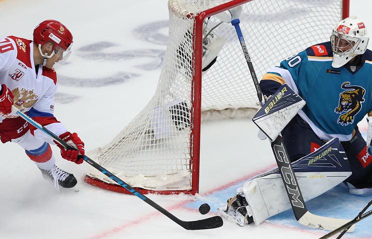 Sochi Hockey Open: олимпийская сборная Российской Федерации разгромила «Сочи»