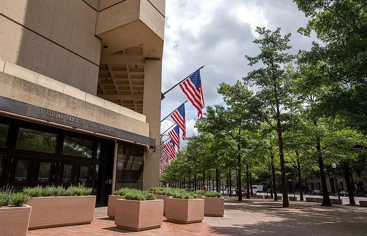 Здание штаб-квартиры ФБР в Вашингтоне