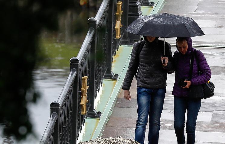 Дождь игроза ожидаются вИркутске днем 7августа