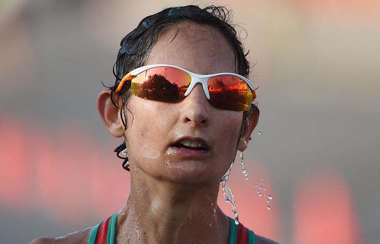 Португальская легкоатлетка Инес Энрикес