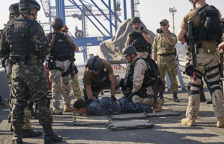 Украинские лазутчики прошли курс подготовки увоенных США