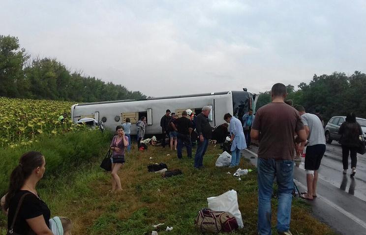 ВДТП савтобусом насеверо-западе Германии пострадали неменее 40 человек