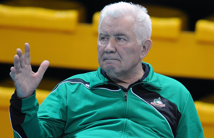 Вице-президент Всероссийской федерации волейбола Николай Карполь