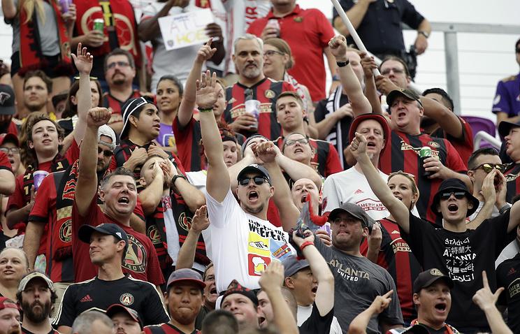 Матч «Атланта»— «Орландо» собрал 70 тыс. созерцателей, побив рекорд посещаемости MLS