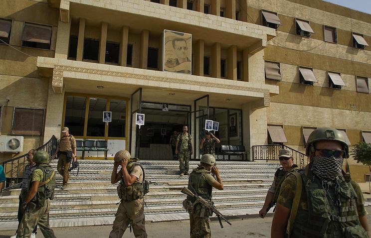 ВСирии взвод русской военной милиции попал вокружение, есть пострадавшие