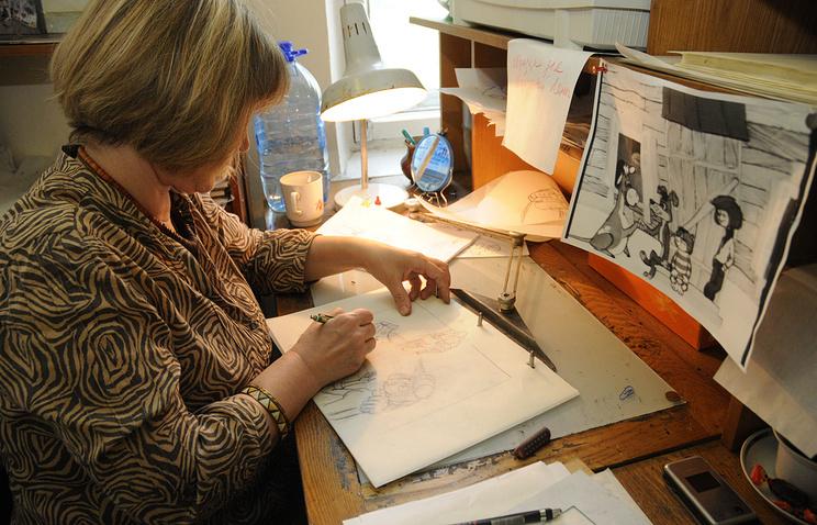 Работа над четвертой частью мультфильма «Простоквашино» в 2008 году