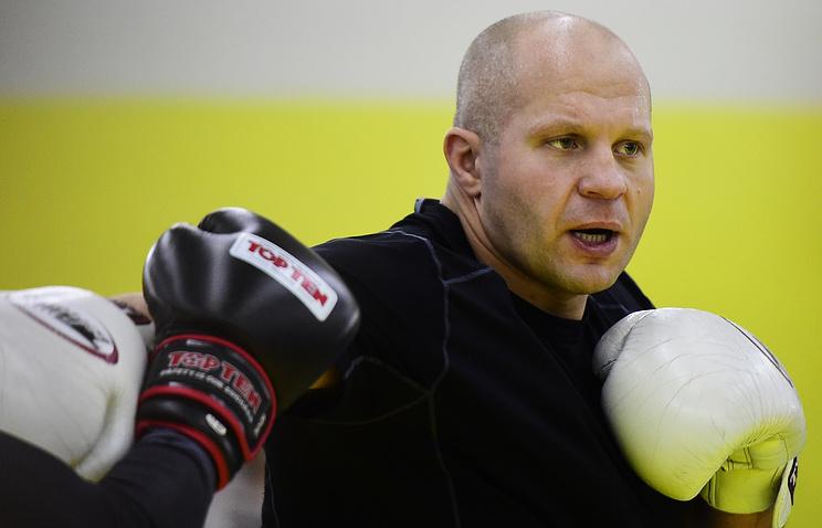 Федор Емельяненко определился соследующим конкурентом