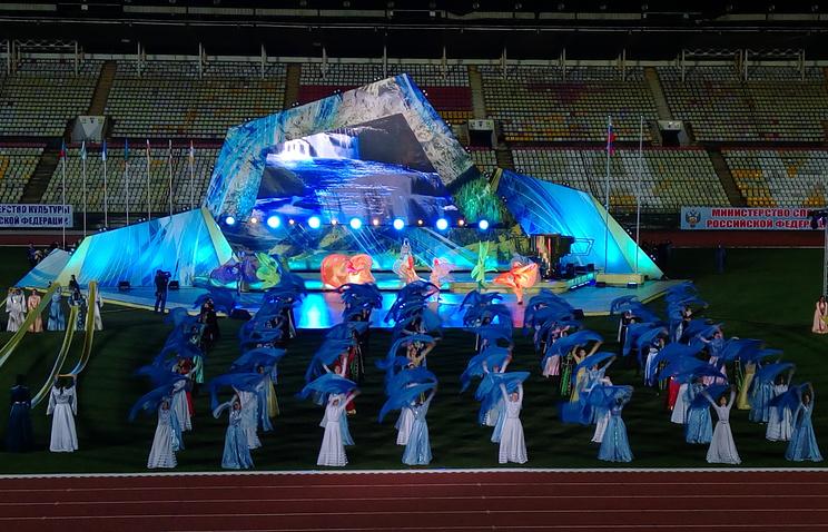 ВоВладикавказе считают часы доVIII Фестиваля культуры испорта народов Кавказа