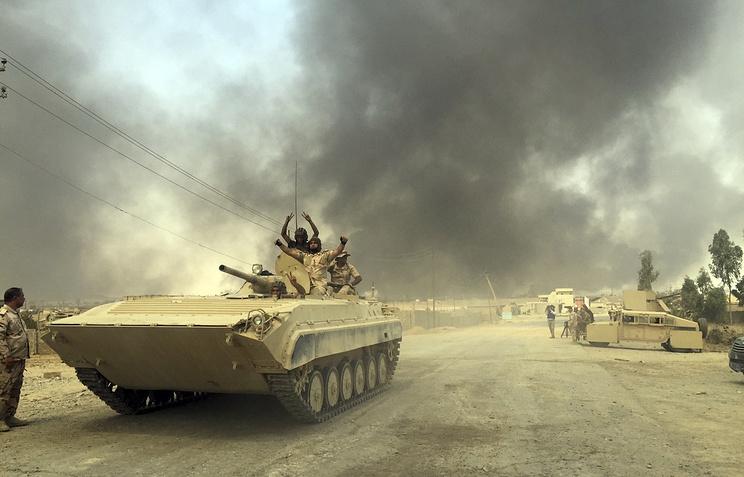 Правительственные войска зачищают отИГИЛ оставшиеся территории Хавиджи— Ирак