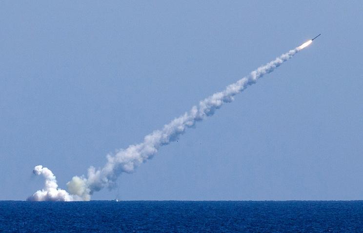 Русские подлодки уничтожили крылатыми ракетами объектыИГ вСирии