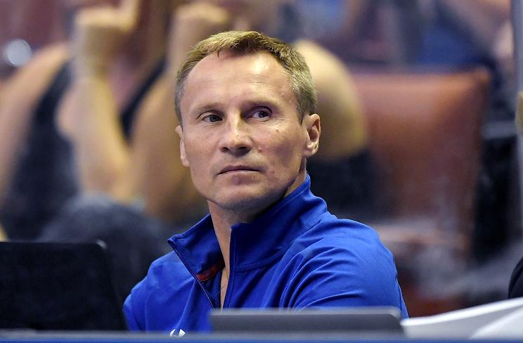 Двукратный олимпийский чемпион по гимнастике Валерий Люкин