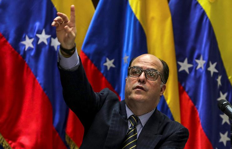 Председатель Национальной ассамблеи Венесуэлы Хулио Андресе Борхес